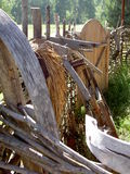 Antyczne drewniane gospodarstwo domowe rzeczy Zdjęcie Royalty Free