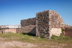 Antyczne forteca ruiny w Tangier, Maroko Zdjęcie Stock