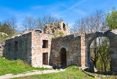 antyczne forteczne ruiny Obraz Royalty Free