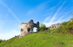 antyczne forteczne ruiny Zdjęcie Royalty Free