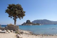 antyczne Greece wyspy kos ruiny Obrazy Stock