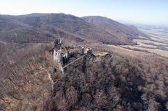 antyczne grodowe ruiny zdjęcie royalty free