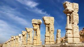 antyczne hampi ind ruiny świątynne Obrazy Royalty Free