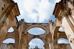 antyczne katedr ruiny Fotografia Stock