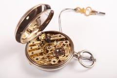 antyczne kieszonkowy zegarek Fotografia Royalty Free