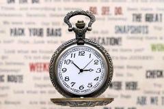 antyczne kieszonkowy zegarek Obrazy Royalty Free