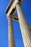 antyczne kolumny Greece Fotografia Royalty Free