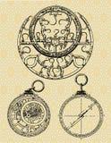 antyczne maszyny royalty ilustracja