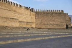 Antyczne miasto ściany Zdjęcia Stock