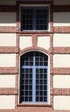 antyczne okno Zdjęcia Stock