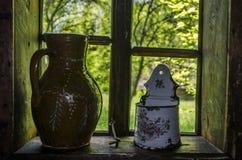 antyczne okno Fotografia Stock