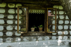 antyczne okno Zdjęcie Stock