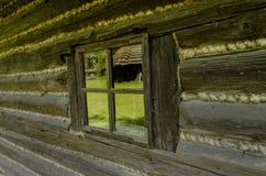 antyczne okno Fotografia Royalty Free