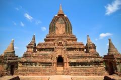 Antyczne pagody w Bagan, Myanmar Obrazy Stock