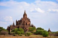 Antyczne pagody w Bagan, Myanmar Zdjęcia Stock