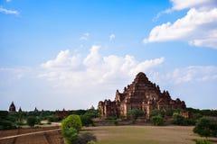 Antyczne pagody w Bagan, Myanmar Fotografia Stock