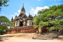 Antyczne pagody w Bagan, Myanmar Zdjęcia Royalty Free