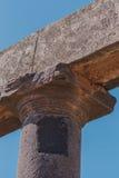 Antyczne Romańskie kolumny Zdjęcia Stock