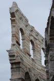 Antyczne Romańskie ruiny Fotografia Royalty Free