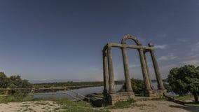 Antyczne Romańskie ruiny Obrazy Stock