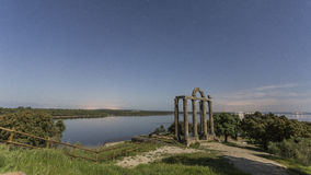 Antyczne Romańskie ruiny Zdjęcie Royalty Free