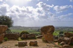 antyczne ruiny Obraz Royalty Free