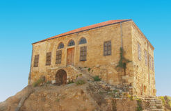 Antyczne ruiny Byblos Liban fotografia stock