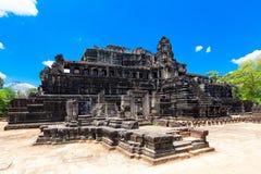 Antyczne ruiny historyczna Khmer świątynia w świątynnym compl Zdjęcia Stock