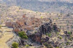 Antyczne ruiny Marokański kasbah w górach Anty atlant, Maroko, afryka pólnocna Obrazy Stock