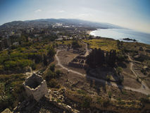 Antyczne ruiny miasto Byblos, Liban zdjęcia stock