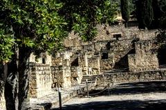Antyczne ruiny Muzułmański miasteczko Medina Azahara 7 Fotografia Royalty Free
