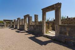 Antyczne ruiny Perge Zdjęcia Royalty Free