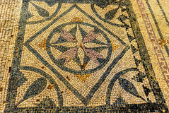 Antyczne ruiny w Romańskiej willi w Risan, Montenegro Fotografia Stock