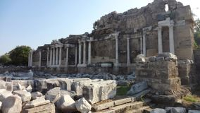 Antyczne ruiny w Turcja obraz royalty free