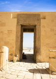 Antyczne ruiny wielka świątynia Hatshepsut Obrazy Royalty Free
