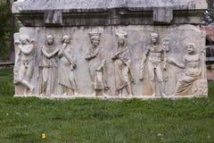 Antyczne rzeźba bóg postacie Obrazy Royalty Free