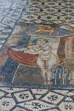 Antyczne rzymskie Volubils ruiny, mozaiki i obraz stock