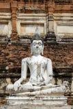 Antyczne Tajlandzkie ruiny przy Ayutthaya Dziejowym parkiem obrazy stock