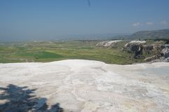 Antyczne wiosny Pamukkale, Turcja Zdjęcie Royalty Free
