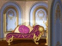 antyczne wnętrze Zdjęcia Royalty Free