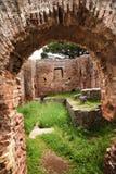 antycznego antica łuku Italy ostia rzymskie Rome ruiny Fotografia Stock