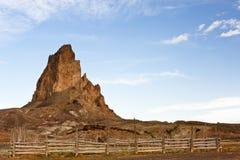 antycznego Arizona kapitanu el wymarły wulkan Zdjęcia Royalty Free
