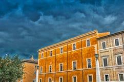 Antycznego miasta budynki Rzym, Włochy Obraz Stock