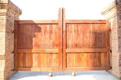 antycznego miasta drzwiowa lumphun świątynia Fotografia Royalty Free