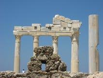 Antycznego miasta strona 2 jest świątynia Apollo Zdjęcia Royalty Free