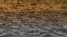 Antycznego miasta wielkiego muru Battlements Wietrzenie kamieniarstwo zdjęcie wideo