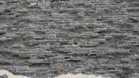 Antycznego miasta wielkiego muru tekstura Wietrzenie kamieniarstwo zbiory wideo