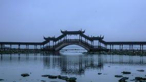 Antycznego miasteczka krajobraz w Suzhou fotografia royalty free