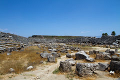 antycznego perge rzymski miejsca indyk obrazy royalty free