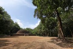 Antycznej świątyni ruiny Sabashalawa przy Sigiriya w Sri Lanka Fotografia Royalty Free
